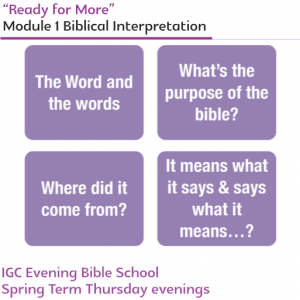 GDWG - Module 1: Biblical Interpretation