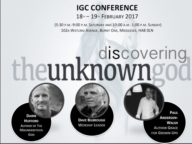 Discovering the Unknown God Flyer