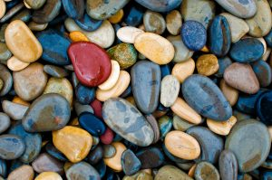Treasure pebbles