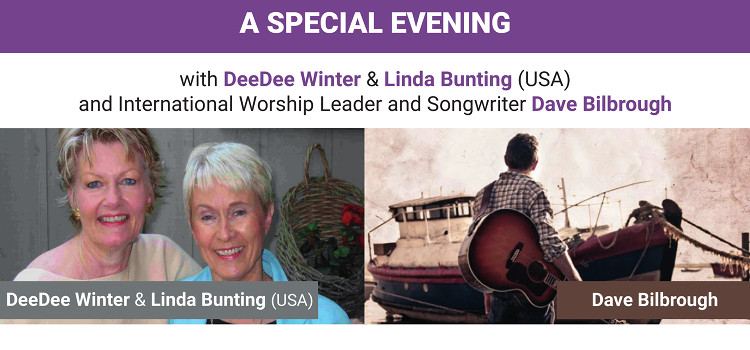 A special evening with DeeDee Winter, Linda Bunting & Dave Bilbrough