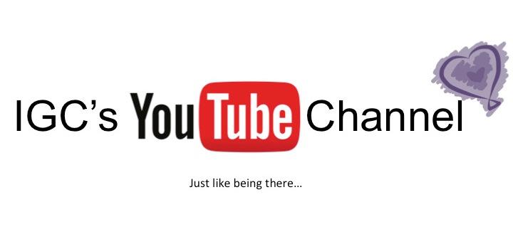 IGC Is On YouTube!